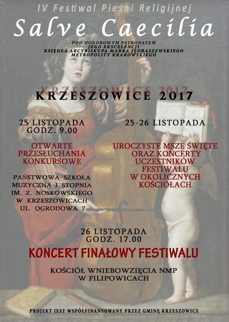 """Nasz kolejny koncert - IV Festiwal Pieśni Religijnej """"Salve Caecilia"""""""