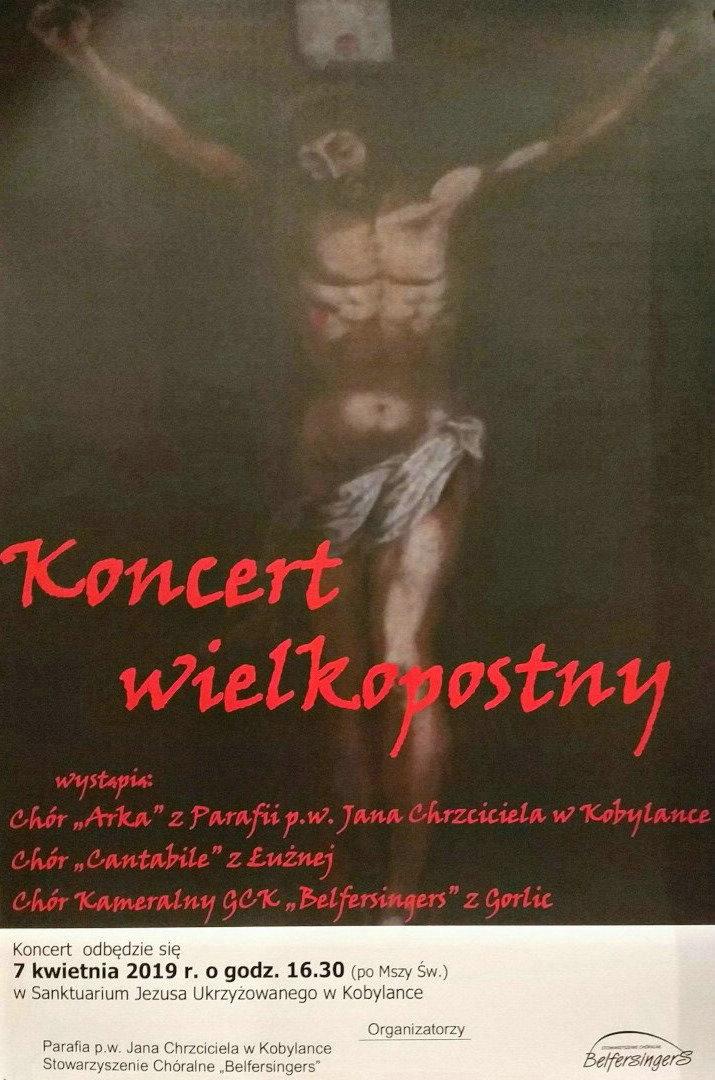 Zaproszenie na Koncert wielkopostny do Kobylanki