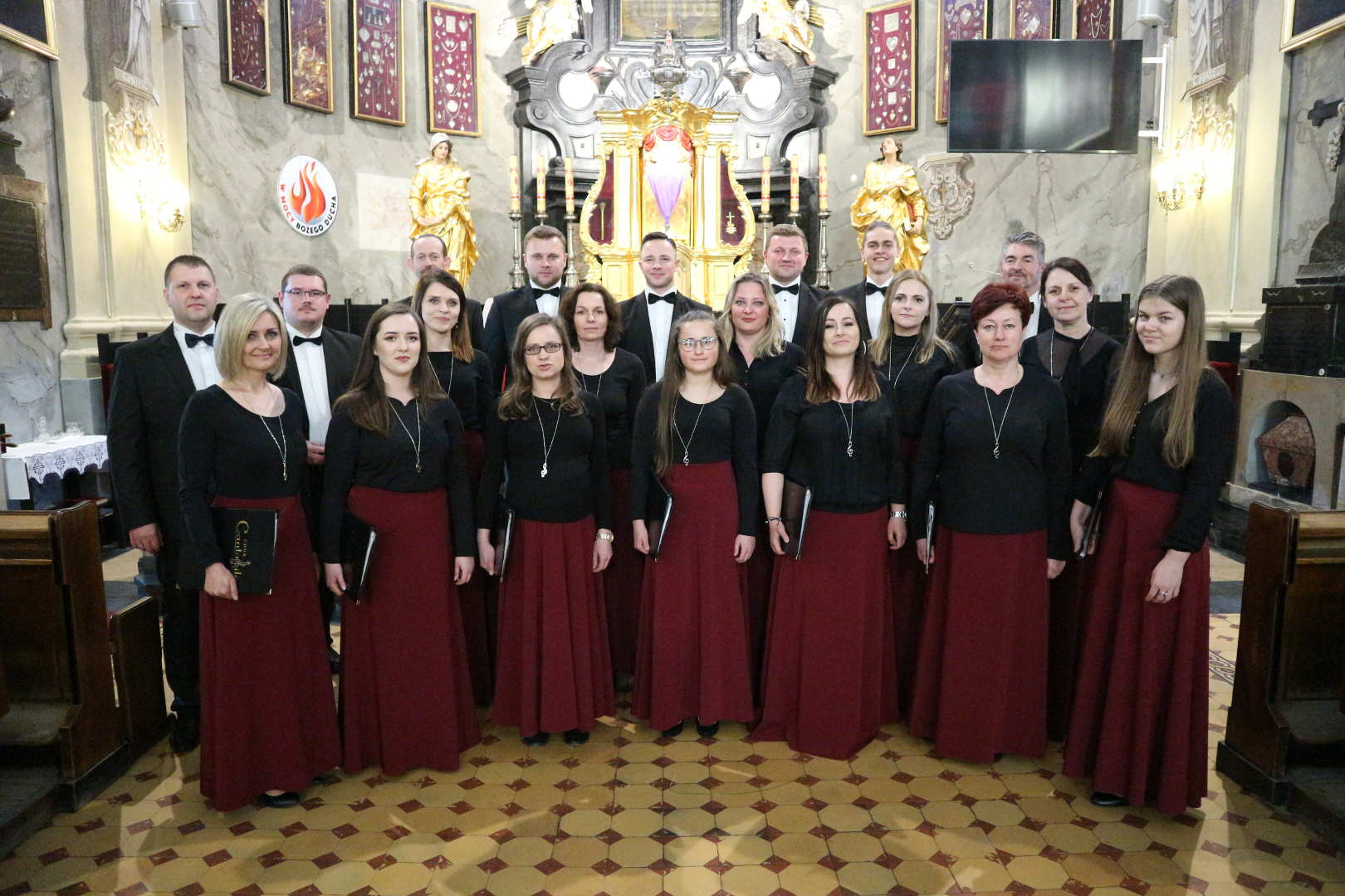 Koncert wielkopostny w Kobylance